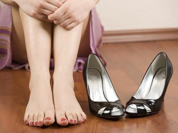 Naast je schoenen