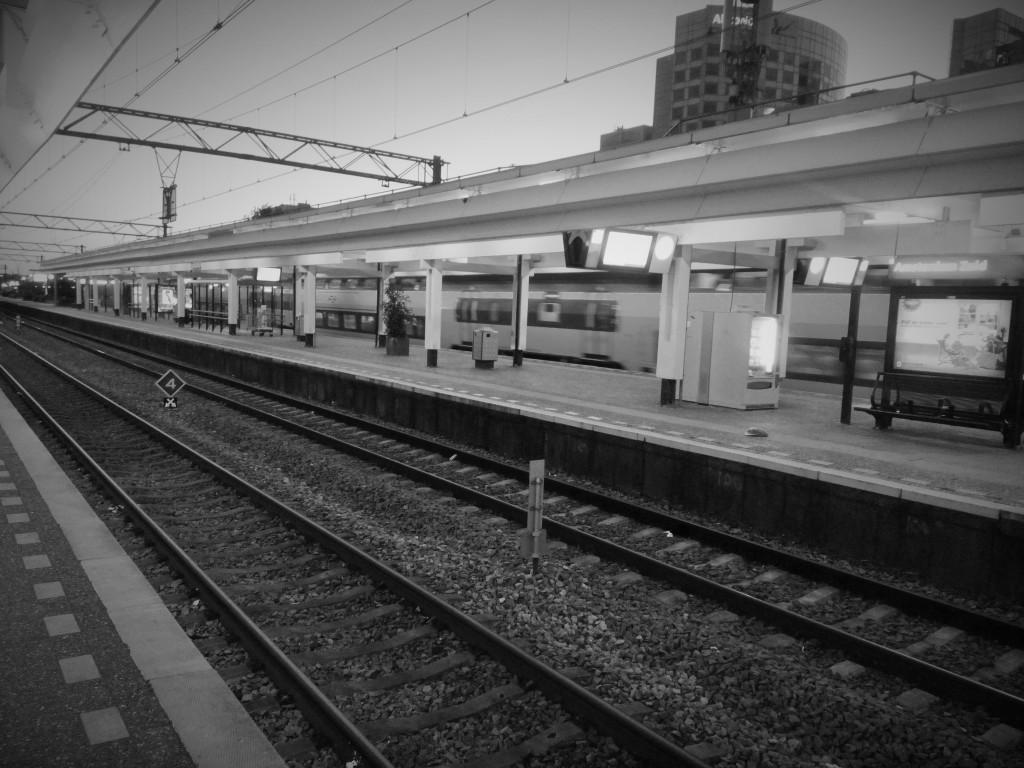 De trein gaat verder